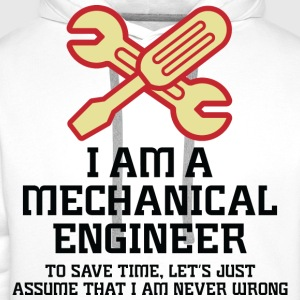 I Am A Mechanical Engineer 1 (dd)++ Camisetas - Sudadera con capucha premium para hombre