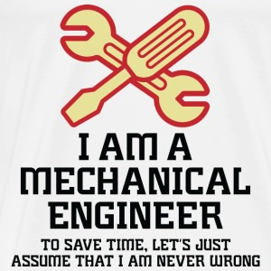 I Am A Mechanical Engineer 1 (dd)++ Sweaters - Mannen Premium T-shirt