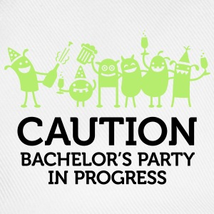 Caution Bachelors Party 2 (2c)++ T-skjorter - Baseballcap