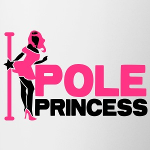pole princess with dancing lady and a pole in high heels Underwear - Mug