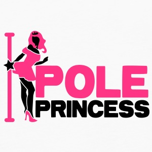 pole princess with dancing lady and a pole in high heels Underwear - Men's Premium Longsleeve Shirt