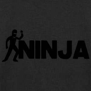 NINJA word with a throwing star Underwear - Men's Sweatshirt by Stanley & Stella
