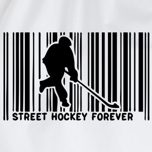 code barre player street hockey1 Tee shirts - Sac de sport léger