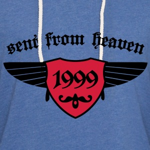 sent from heaven 1999 Baby Body - Leichtes Kapuzensweatshirt Unisex