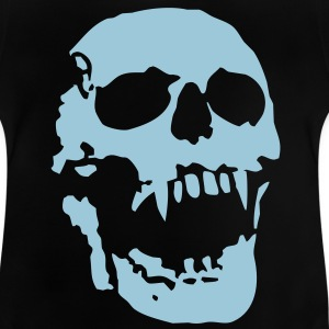 scream_skull Tee shirts Enfants - T-shirt Bébé