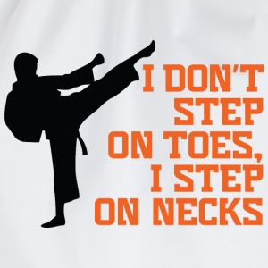 I Dont Step On Toes 3 (dd)++ T-shirt bambini - Sacca sportiva