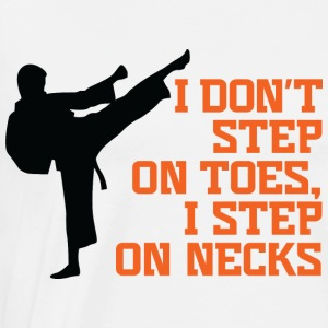 I Dont Step On Toes 3 (dd)++ Gensere - Premium T-skjorte for menn
