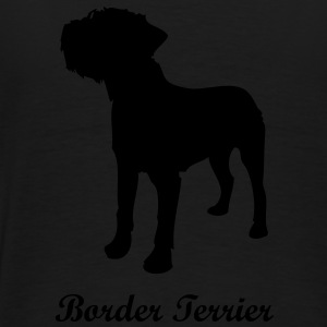 Border Terrier - Chien Sweats Enfants - T-shirt Premium Homme