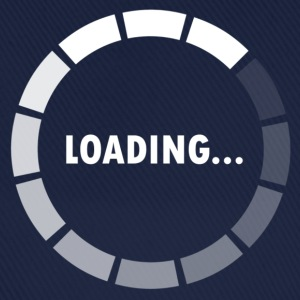 Ajax Loader - loading - waiting T-shirts - Baseballcap