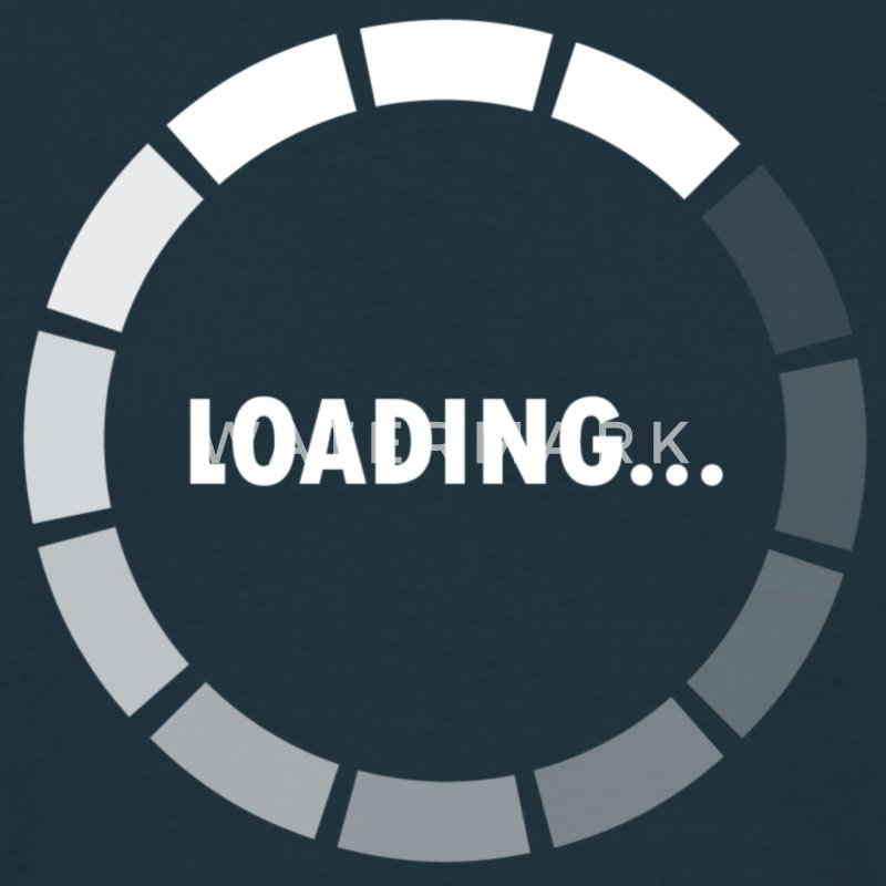 Ajax Loader - loading - waiting T-Shirts - Men's T-Shirt