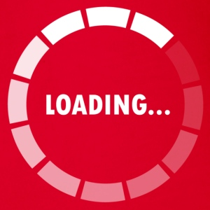 Ajax Loader - loading - waiting Kinder T-Shirts - Baby Bio-Kurzarm-Body