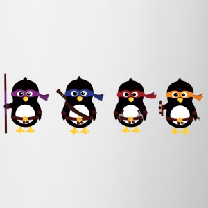 Penguins ninjas T-shirts - Mok