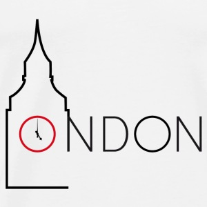 London Big Ben - T-shirt Premium Homme