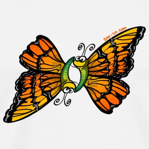 Loving Butterflies Mugs  - Men's Premium T-Shirt