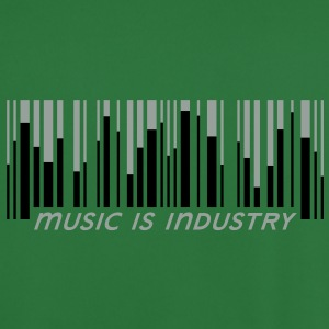 Music is industry Hoodies & Sweatshirts - Men's Football Jersey