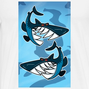 Sharks Mugs  - Men's Premium T-Shirt