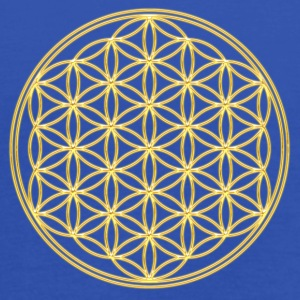 FEEL THE ENERGY, Flower of Life, Gold, Sacred Geometry, Protection Symbol, Harmony, Balance Camisetas - Camiseta de tirantes mujer, de Bella