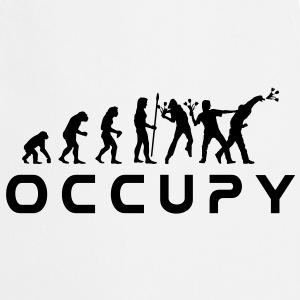 evolution_occupy Tee shirts - Tablier de cuisine