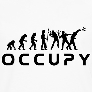 evolution_occupy T-skjorter - Premium langermet T-skjorte for menn