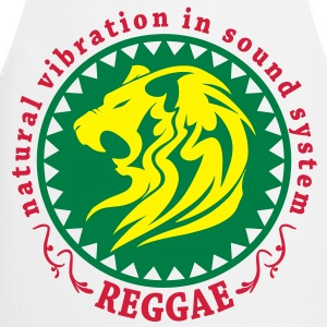 natural vibration in sound system reggae T-Shirts - Cooking Apron