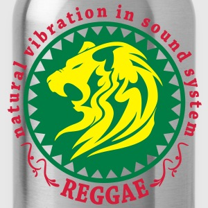 natural vibration in sound system reggae T-Shirts - Water Bottle