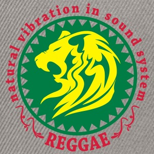 natural vibration in sound system reggae Hoodies & Sweatshirts - Snapback Cap