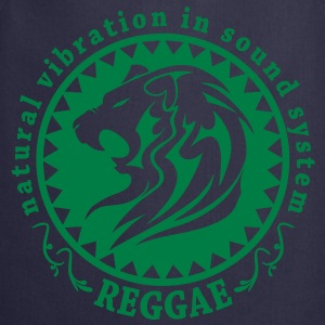 natural vibration in sound system reggae Felpe - Grembiule da cucina