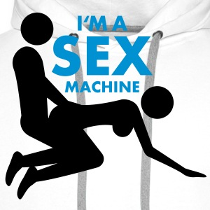 sex_machine T-Shirts - Men's Premium Hoodie
