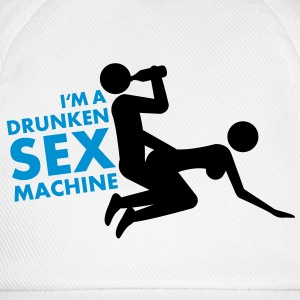 drunken_sex_machine T-shirt - Cappello con visiera