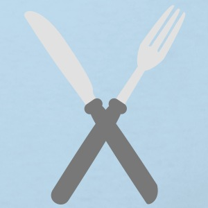 fork_and_kinfe Accessories - Kids' Organic T-shirt
