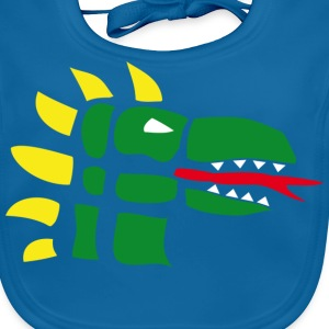 Dragon Kids' Shirts - Baby Organic Bib