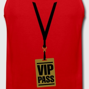 VIP pass Kinder shirts - Mannen Premium tank top