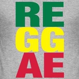 reggae Sweatshirts - Herre Slim Fit T-Shirt