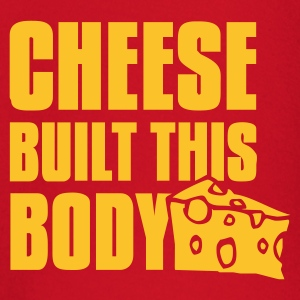 cheese built this body Shirts - Baby Long Sleeve T-Shirt