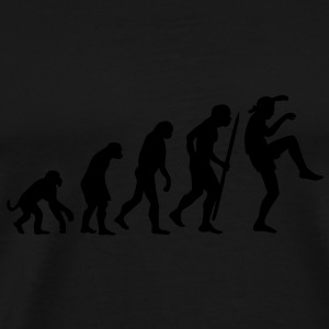 Evolution of Karate Kid Kraanvogel techniek Sweaters - Mannen Premium T-shirt