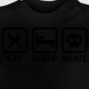 Eat Sleep Skate Kinder sweaters - Baby T-shirt