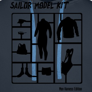 Sailor Model Kit - Mens Harness Edition T-Shirts - Männer Premium Hoodie