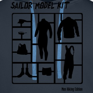 Sailor Model Kit - Mens HIking Edition T-Shirts - Männer Premium Hoodie