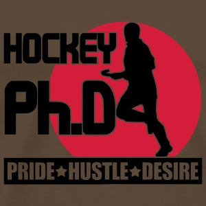 Hockey Ph.D Shoulder Bag  - Men's Premium T-Shirt