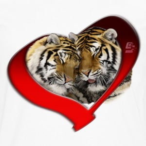 wild love by customstyle Tee shirts - T-shirt manches longues Premium Homme