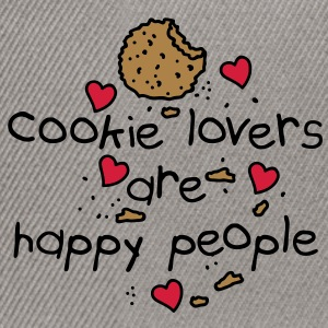 cookies lovers are happy people Sacs - Casquette snapback