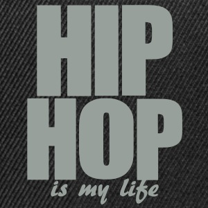 hip hop is my life Tassen - Snapback cap