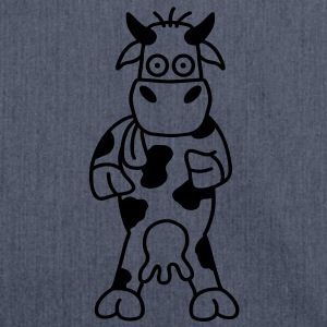 cow Baby Bodysuits - Shoulder Bag made from recycled material