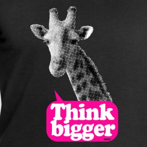 Think bigger - Girafe Tee shirts - Sweat-shirt Homme Stanley & Stella