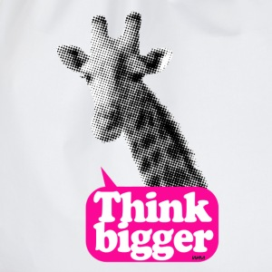 Think bigger - Girafe Badges - Sac de sport léger