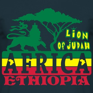 lion of judah africa ethiopia Sweaters - Mannen T-shirt