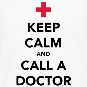 Keep Calm and Call a Doctor T-Shirts - Männer Premium Langarmshirt