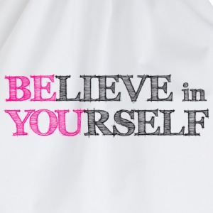 believe in yourself Kids' Shirts - Drawstring Bag