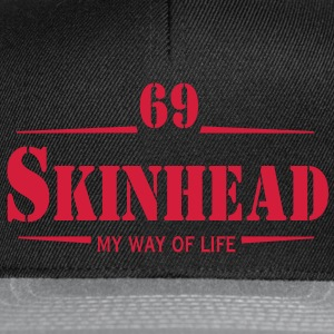 1 colors - Skinhead My Way of Life Skinheads Bootboys Rudeboys Skins Oi! T-Shirts - Snapback Cap