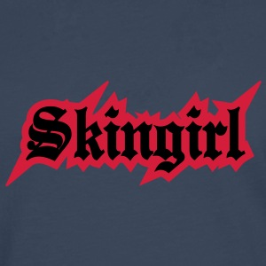 2 colors - Skingirl My Way of Life Skingirls Bootgirls Rudegirls Skinheads Oi! Gensere - Premium langermet T-skjorte for menn